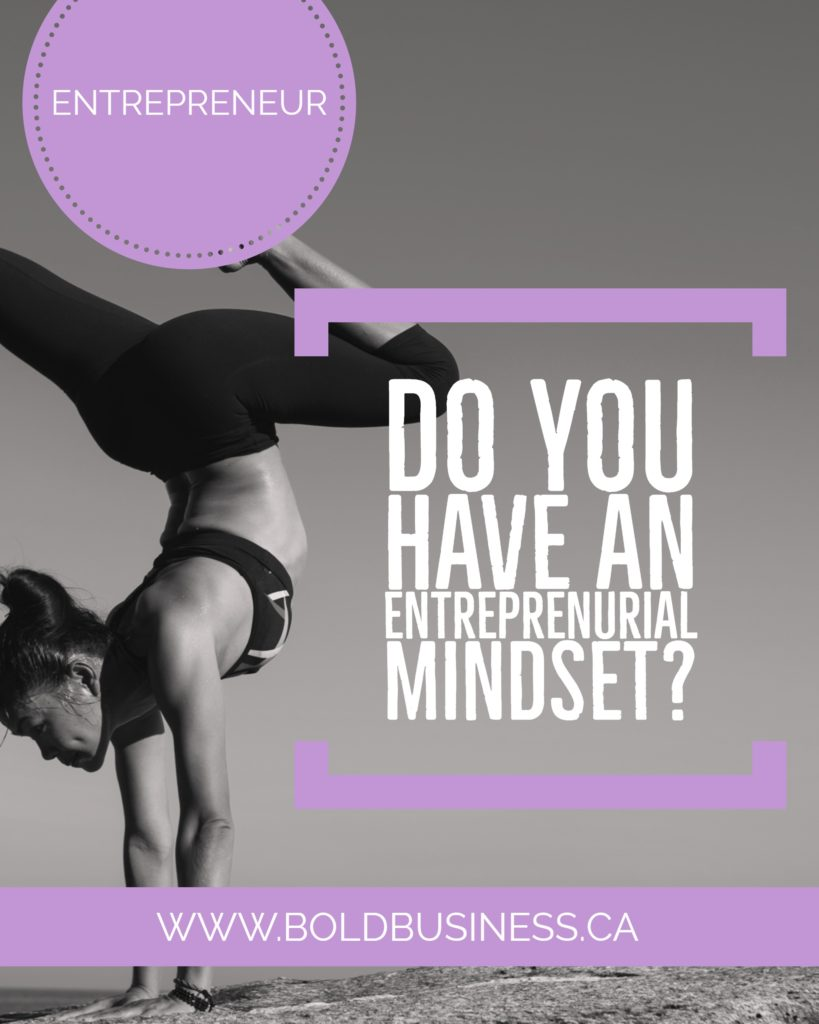 Do You Have an Entreprenurial Mindset