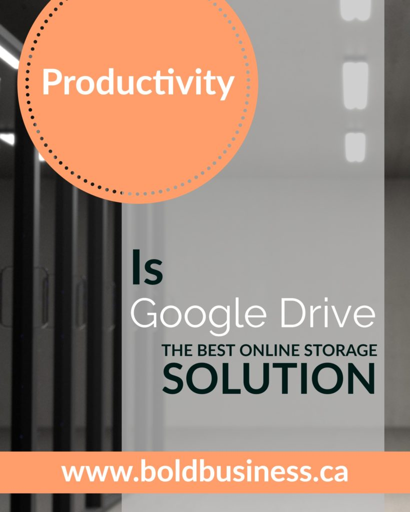 Google Drive - the best online solution