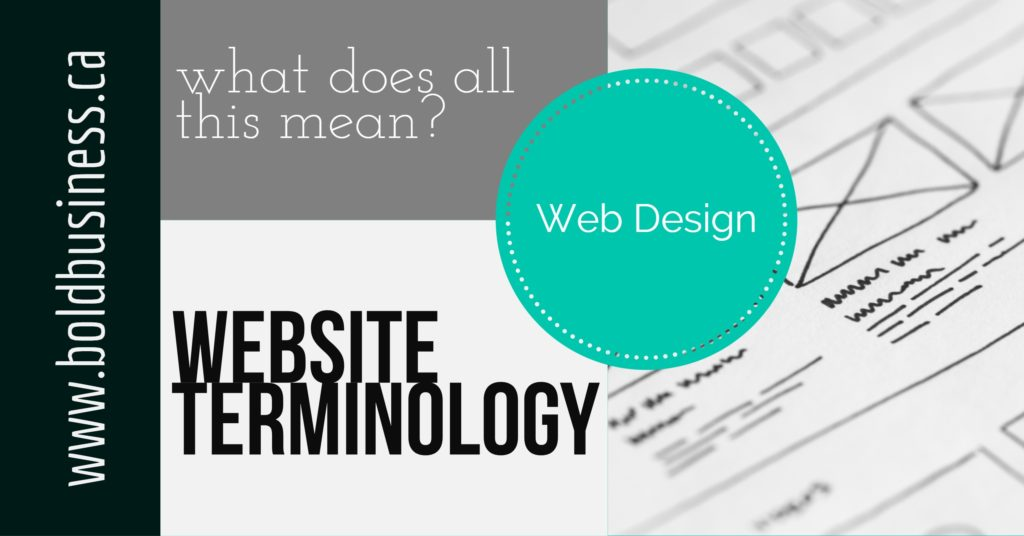 Website Terminology